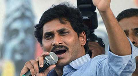 YSR Congress chief Jaganmohan Reddy was also critical of BJP, whose support in Parliament paved the way for bifurcating Andhra Pradesh. (PTI)