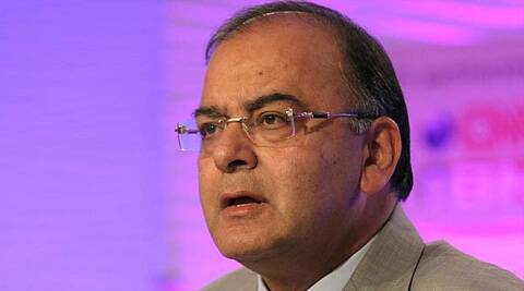 Jaitley has taken on the minister for suggesting that the word 'FAM' referred to the Tyagi family.