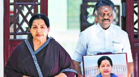 CM Jayalalithaa and Finance Minister Panneerselvam before presenting the budget in Chennai on Thursday.(PTI)