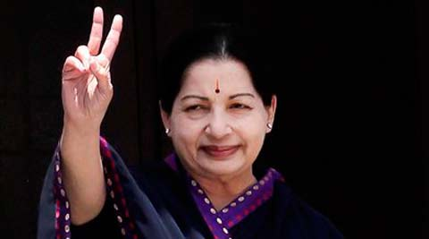 Jayalalithaa released the manifesto in Chennai at AIADMK headquarters a day after she announced candidates for all 39 Lok Sabha Seats. (PTI)