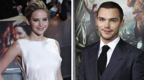 Jennifer Lawrence and Nicholas Hoult are reportedly planning to move in together in a 1.3 million pounds house in the UK. (Reuters)