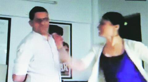 Video also shows Kapoor's wife and director Atul Sabharwal.