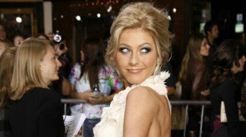Julianne Hough has previously dated Ryan Seacrest. (Reuters)
