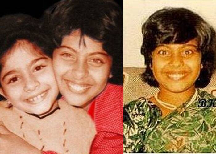 Bengali tigress Kajol's smile is still the same. Aww Kajol hugs younger sister Tanishaa.