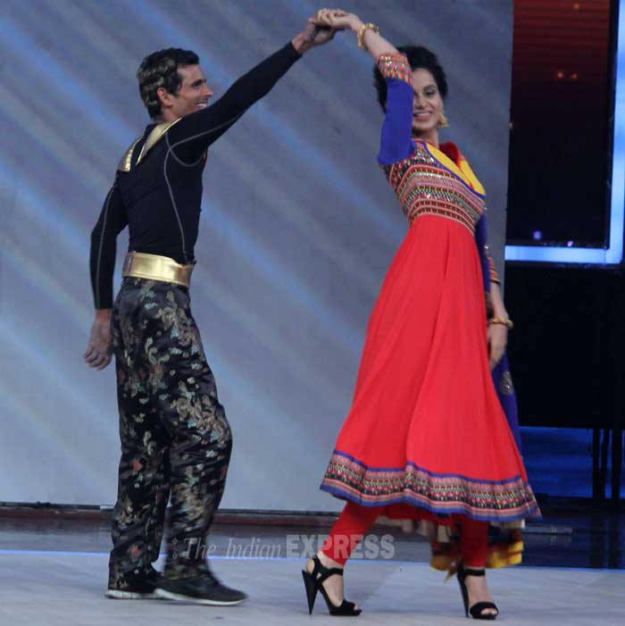 The actress not only helped to judge the show but also danced on stage for her fans. (Photo: Varinder Chawla)