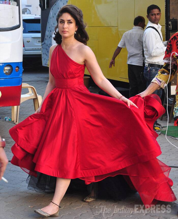 Lady in Red Kareena Kapoor