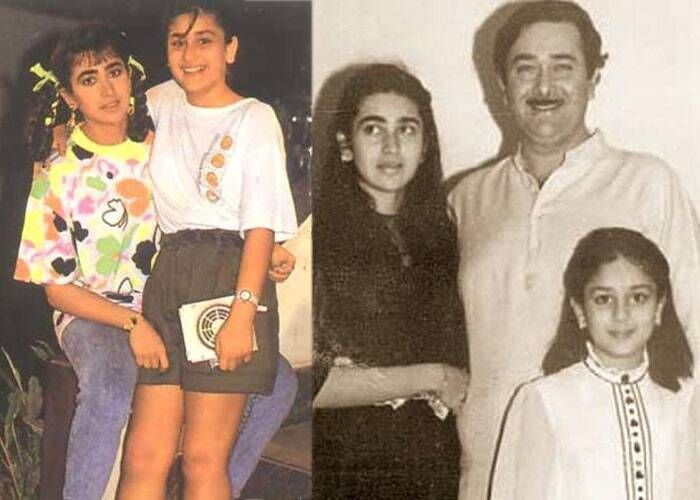 Sisters Karisma and Kareena, who grew up to be Style Icons, were too cute.