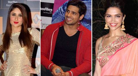 Kareena Deepika Sidharth
