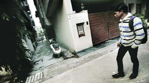 The spot in Karol Bagh where Simranjeet was murdered. (Archive)