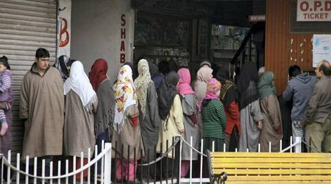 Kashmiri migrants have complained that they are not being allotted shops in INA market. (PTI)