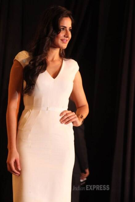 Katrina Kaif goes chic in white