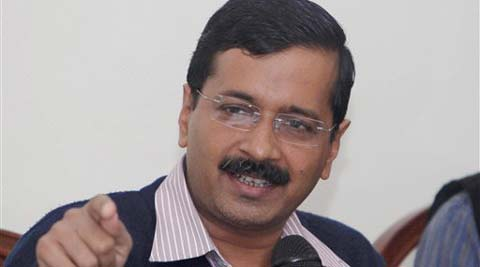 Party leaders Prashant Bhushan and Kejriwal advocated the implementation of RTI act within political parties. (PTI)