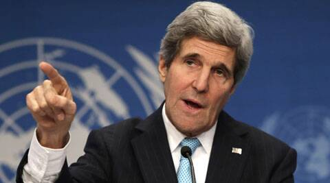 Both the State Department and the White House denied that Kerry had favoured arming the Syrian rebels.