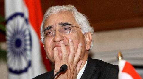 Salman Khurshid hit out at Narendra Modi saying Supreme Court never gave him a clean chit in Gujarat riots.