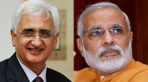 Without taking the name of Modi, Khurshid asked why a man who aspires to be the prime minister of the country could not do anything during the 2002 riots.
