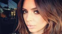 Kim Kardashian goes back tobrunette