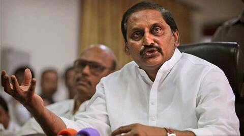 After speaking to the media, Reddy, 53, drove to Raj Bhawan and submitted his resignation to Governor E S L Narasimhan. (PTI)