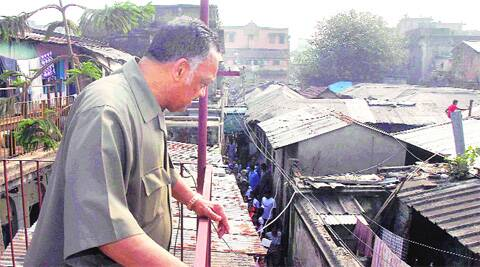 Rev Jesse Jackson during his visit to Kalighat Red Light area, in Kolkata on Wednesday. PTI