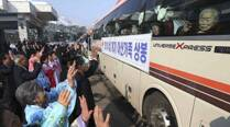 Reunited North, South Korean families hold final farewell
