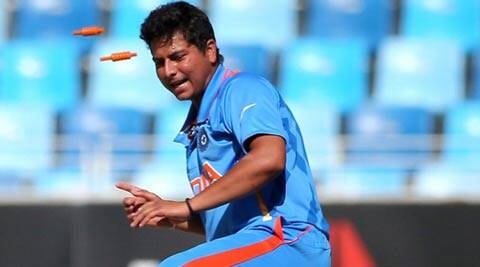Kuldeep Yadav, who is registered with Mumbai Indians, returned impressive figures of 4/10 in 8.2 overs (ICC)