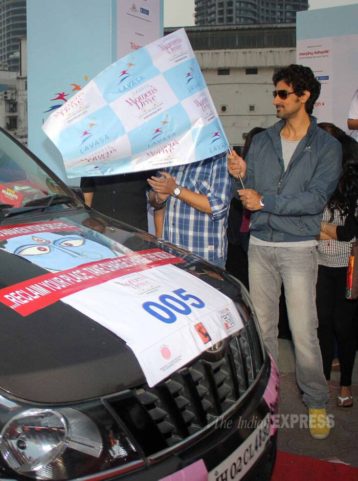 Bollywood actor Kunal Kapoor, who has also supported a crowd-funding portal Ketto and helped them to raise more than Rs 45 lakh in the last one year, was also at the rally. (Photo: Varinder Chawla)