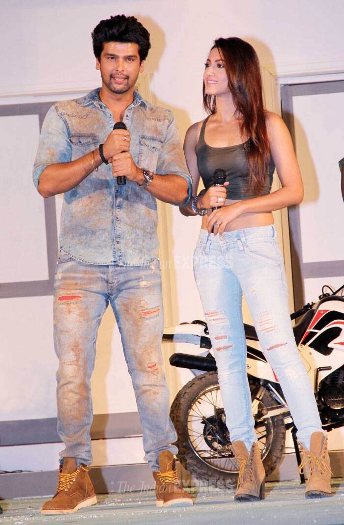 Rohit Shetty, Kushal, Gauahar, Mugdha gear up for some action
