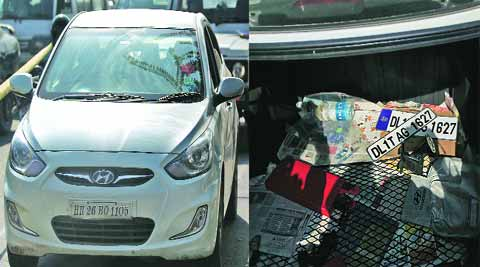 Rs 8 crore were looted in south Delhi's busy Lajpat Nagar area on January 28.