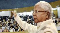 Lalu at a programme