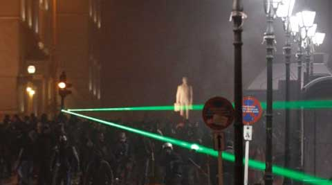 World's most powerful laser has been developed in Britain. (Reuters)