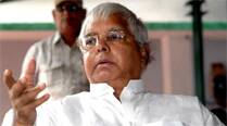 Lalu Prasad stole the show. He flared his nostrils and charged. On Tuesday, we saw him gather his straying flock and march, as if to war, on the Bihar Assembly.