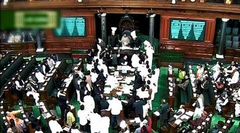 The probe was ordered into the 90-minute blackout on Lok Sabha TV on Tuesday when the controversial bill was taken up.