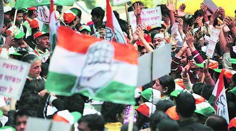 Congress has started rethinking about selection of Varanasi in the list of 16 constituencies chosen for primaries across the country.