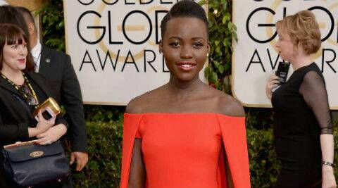 Lupita Nyong'o revealed she uses natural oils to keep her complexion glowing. (Reuters)