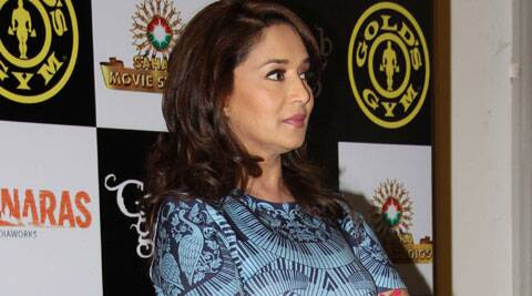 """There should be fire drills as well,"" said Madhuri Dixit."