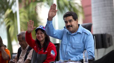 Maduro, a former bus driver and union activist, is grappling with his biggest crisis since he was narrowly elected president in April 2013. (AP)