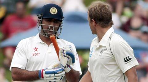 Mahendra Singh Dhoni's India have not won a test overseas since June 2011 (Reuters)
