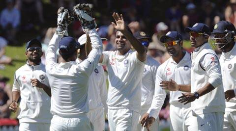 India looked like winning the second Test, as they reduced New Zealand to 94 for five in their second innings (AP)