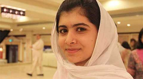 Malala was shot at by the Taliban in her native Swat in northwest Pakistan in 2012 after she spoke publicly about girls' rights to education. (Reuters)