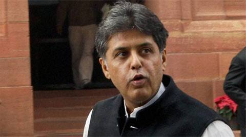 Union Minister Manish Tewari.