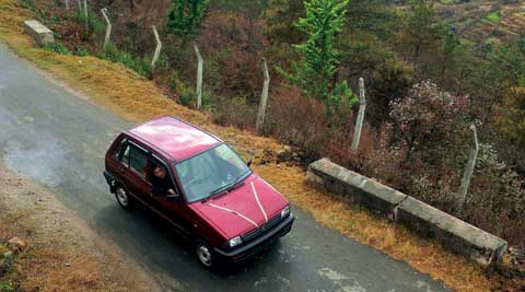 Maruti 800: It might not have been a flashy car but for some it was like a Ferrari. (Express Photo)