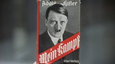 """Adolf Hitler wrote """"Mein Kampf"""" while in prison. (AP)"""
