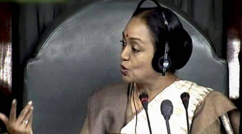 Our parliamentary democracy is admired throughout the world. Today what has happened is a blot on democracy, said Meira Kumar. (PTI)