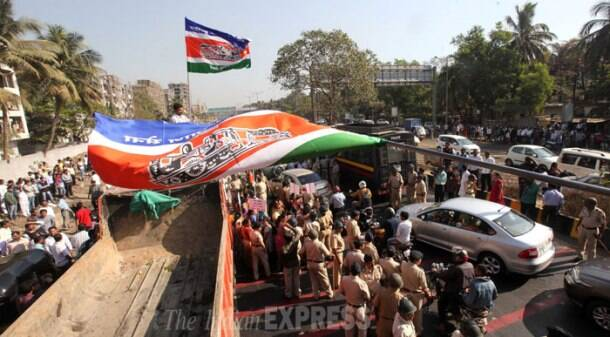 'Rasta Roko' agitation by MNS workers