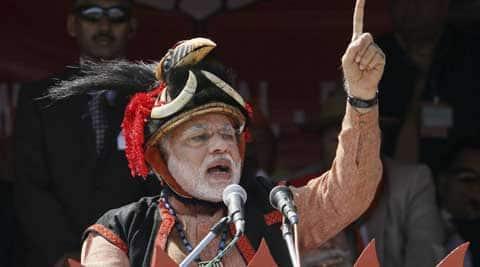 BJP's prime ministerial candidate Narendra Modi. (PTI)