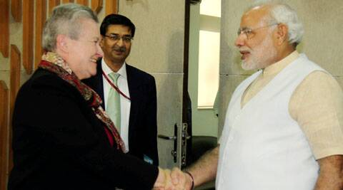 Modi expressed hope that a permanent solution will soon be found on the Devyani Khobragade issue.