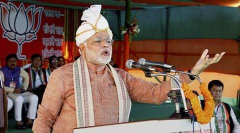 Modi has visited Varanasi twice