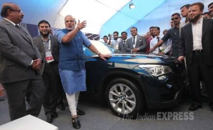 Narendra Modi at Muslim business conclave