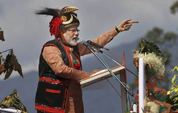 In Arunachal, Narendra Modi warns China