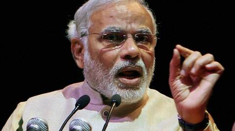 Modi accused the Congress of playing politics of divide and rule. (PTI)