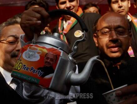 BJP leaders host 'NaMo Tea Party'
